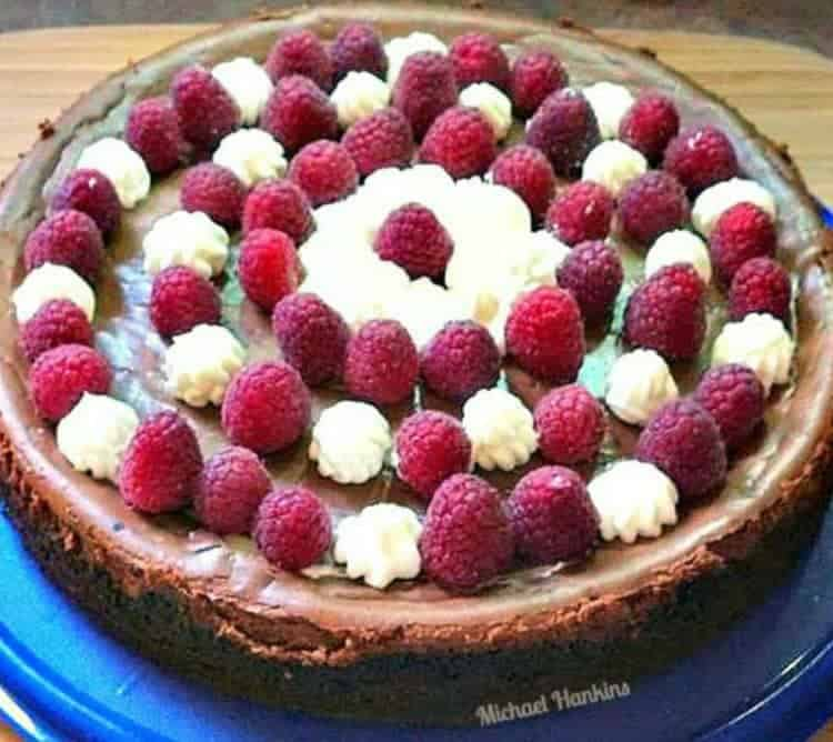 Triple Chocolate Cheesecake. This is dreamy dessert for all chocolate lovers! Really delicious!