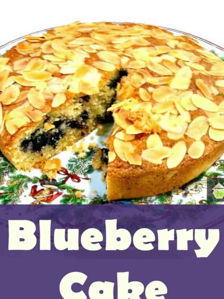 Very Easy Blueberry Cake. Perfect with a cup of tea or as a dessert, served with ice cream or whipped cream. Yummy!
