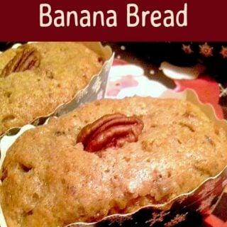 Butter Pecan Banana Bread