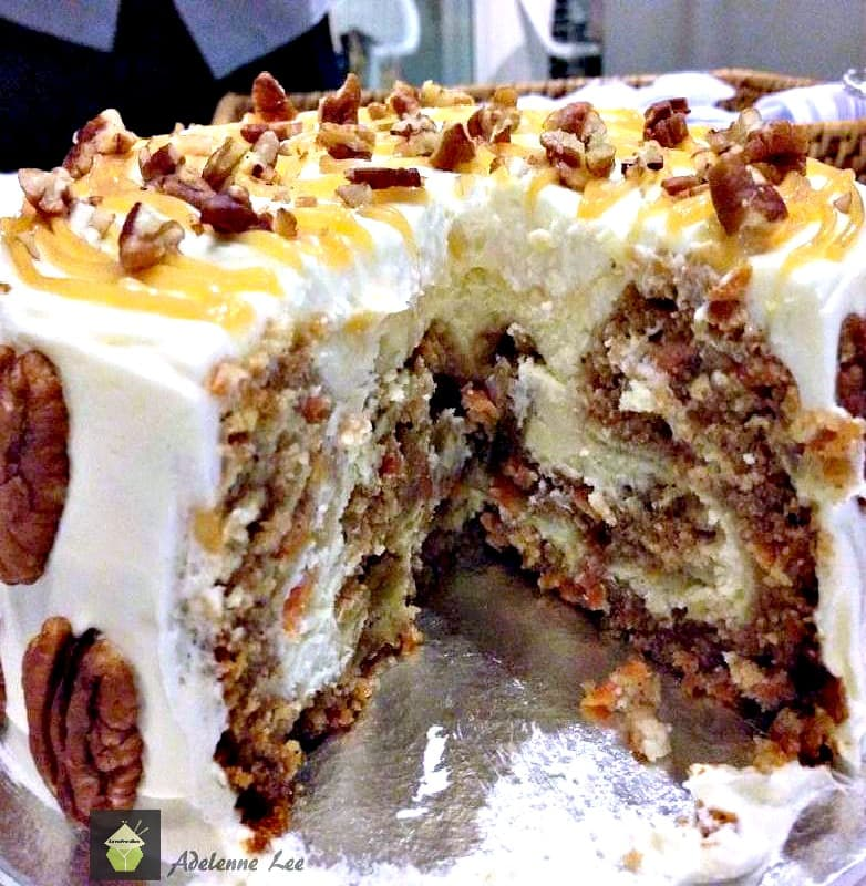 Carrot Cake Cheesecake Perfect For Thanksgiving Christmas