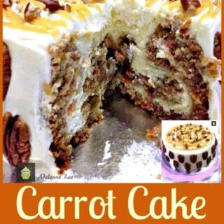 Carrot Cake Cheesecake. Simply a Show Stopping Wow!