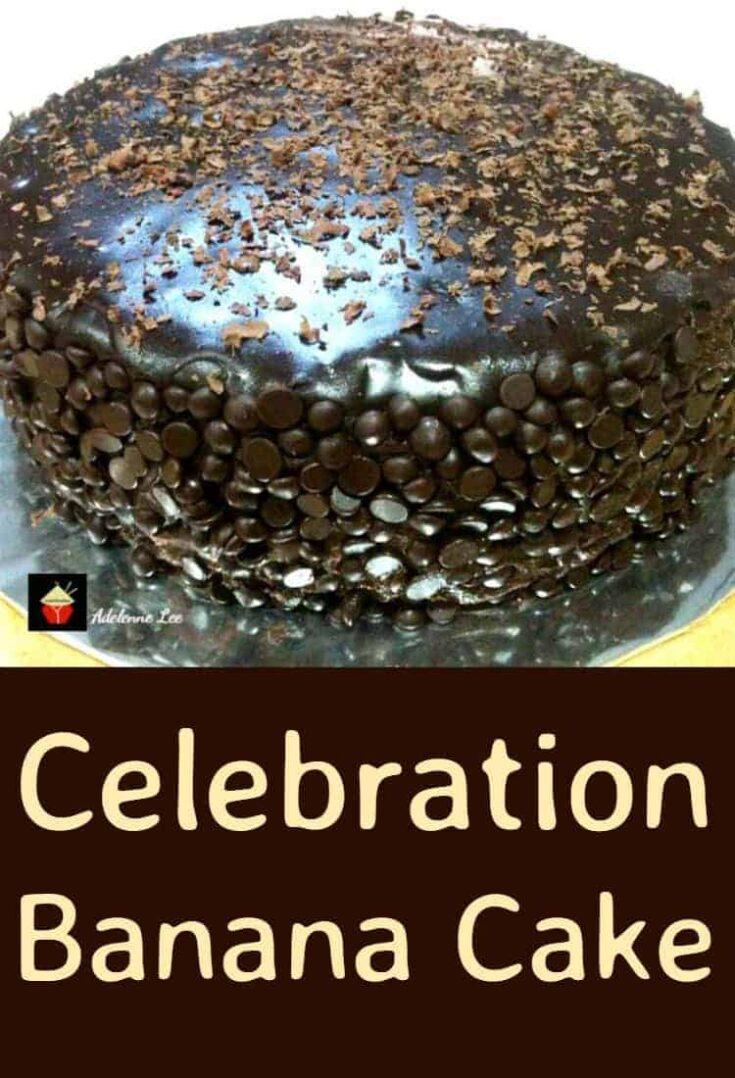 Celebration Banana Cake3