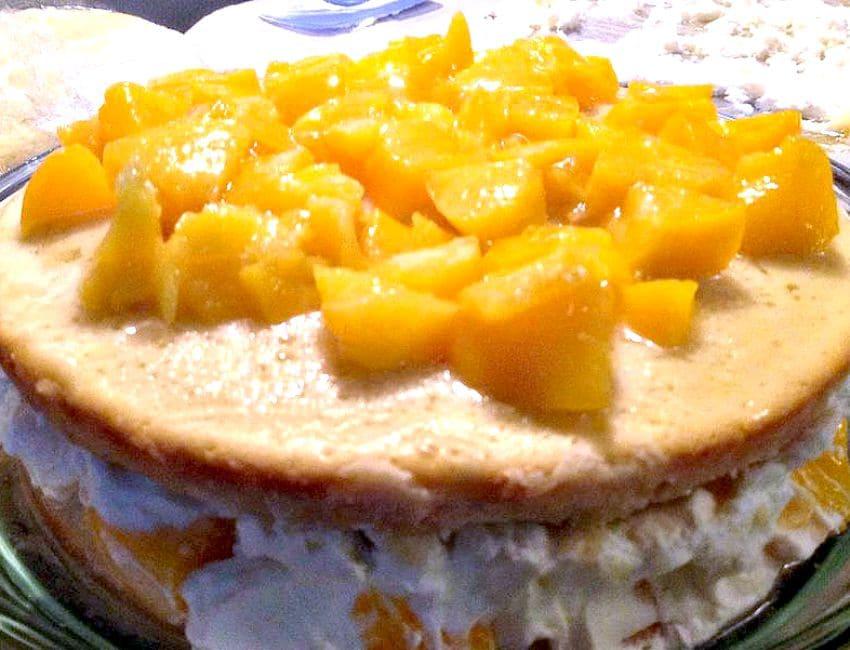 Celebration Chaja Cake, build the cake