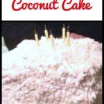 Celebration Coconut Cake