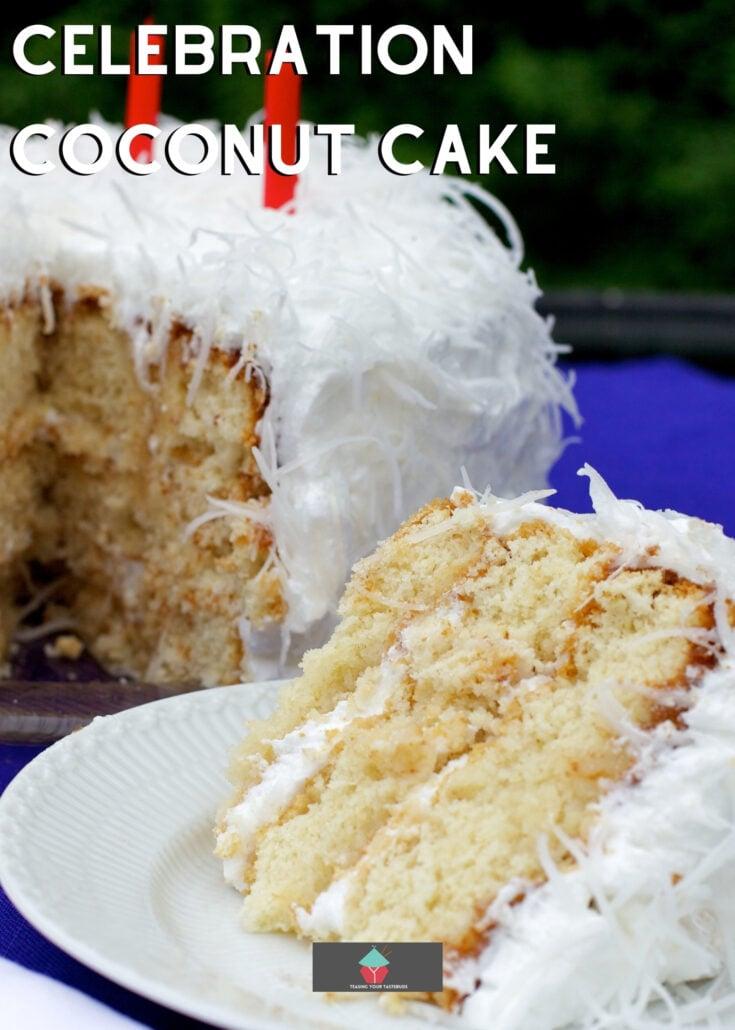 Celebration Coconut CakeH