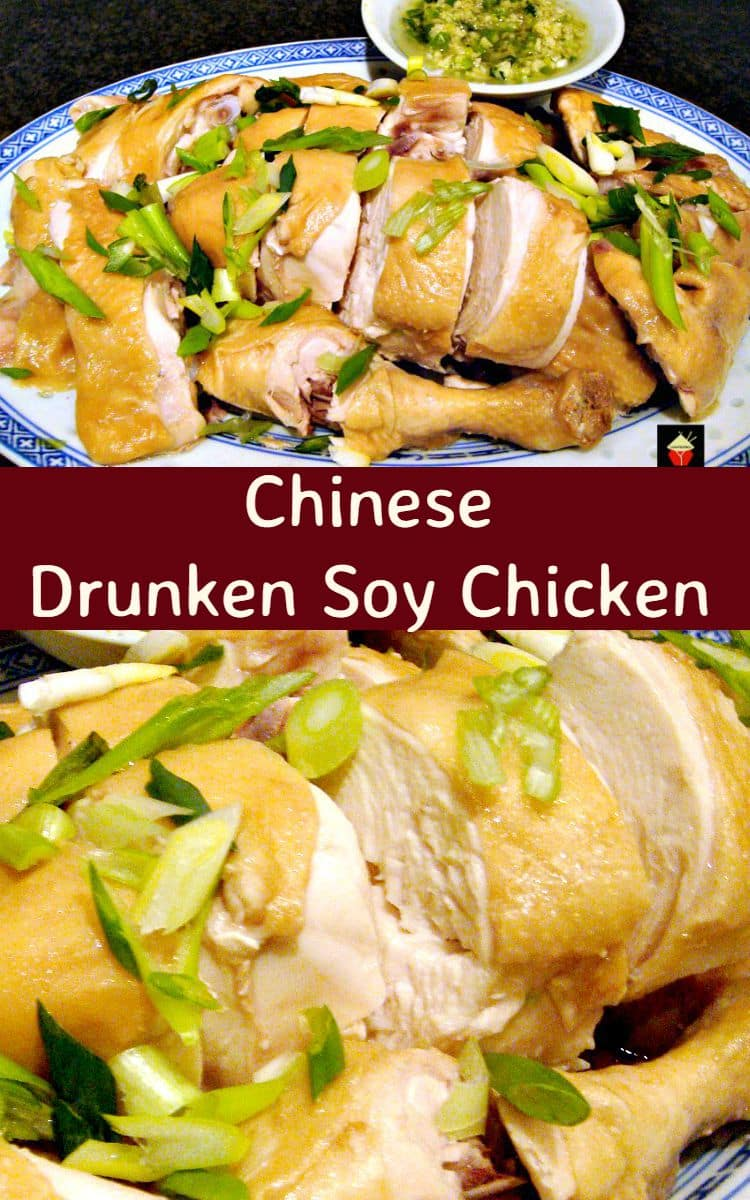 Chinese drunken soy chicken is a lovely easy recipe the chicken is chinese drunken soy chicken is a lovely easy recipe the chicken is cooked in a lovely broth keeping it juicy and full of flavor forumfinder Gallery