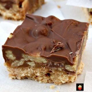 Chocolate Caramel Pecan Bars