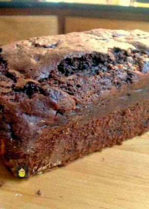 Chocolate Dream Loaf Cake. Super moist and every chocolate lover's dream!