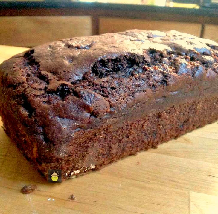 Chocolate Dream Loaf Cake. Super moist and every chocolate lover's dream! | Lovefoodies.com