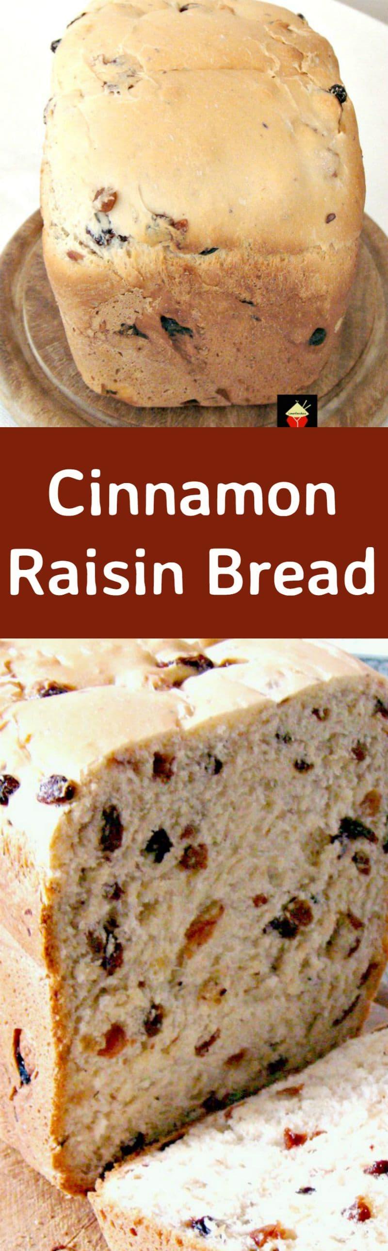 Cinnamon Raisin Bread A Nice Easy Bread To Make Using