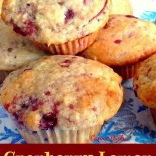 Cranberry Lemon Muffins