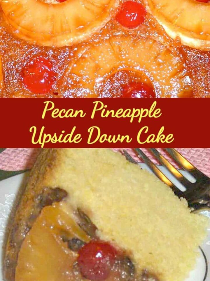Crockpot Pecan Pineapple Upside Down Cake - This has had fabulous reviews. Easy to make and yep...in the slow cooker!