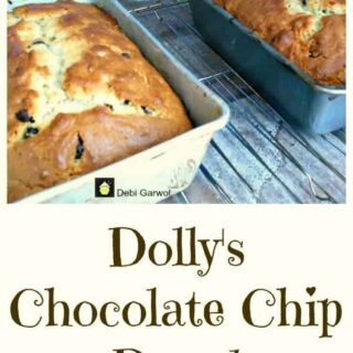 Dolly's Chocolate Chip Cake. Very easy recipe and a family favorite!
