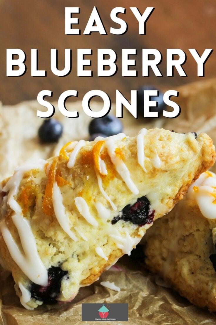 Easy Blueberry SconesP1