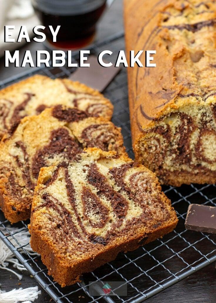 Easy Marble CakeH