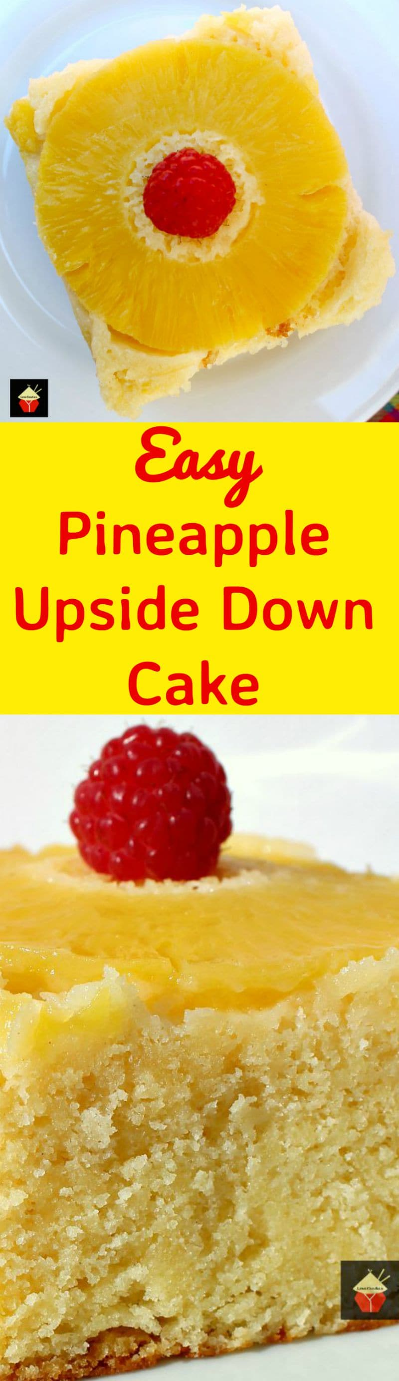 Pineapple Upside Down Cake Recipe  Serving
