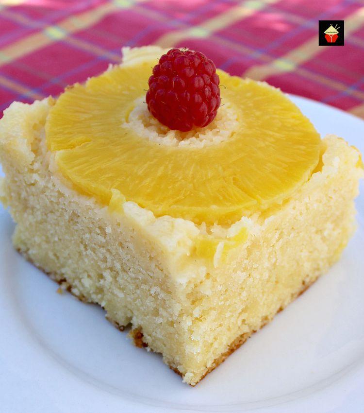 Easy Moist Pineapple Upside Down Cake