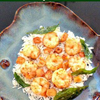 Garlic Butter Shrimp Dinner
