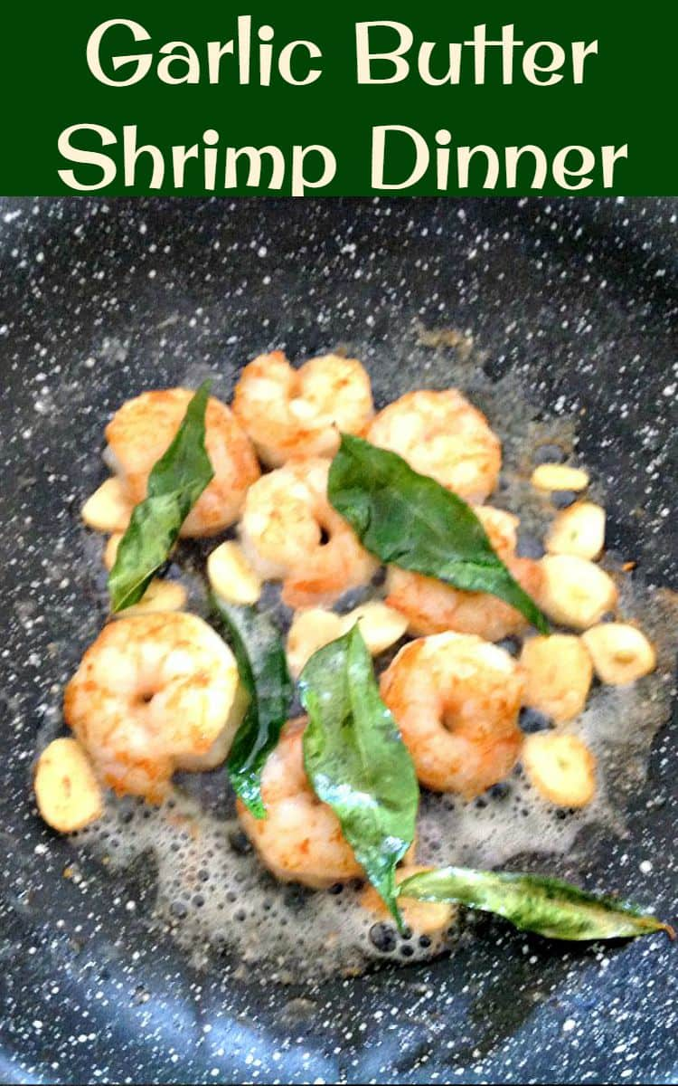 Garlic Butter Shrimp Dinner. This is a super fast and easy recipe which you can serve as a starter or main meal. Delicious on a bed of rice or pasta, or some warm bread fresh from the oven!   Lovefoodies.com