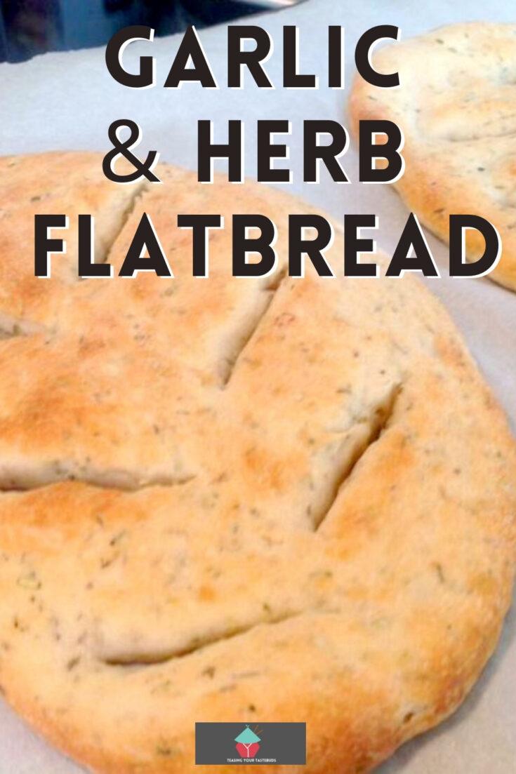 Garlic Herb Flat BreadP1