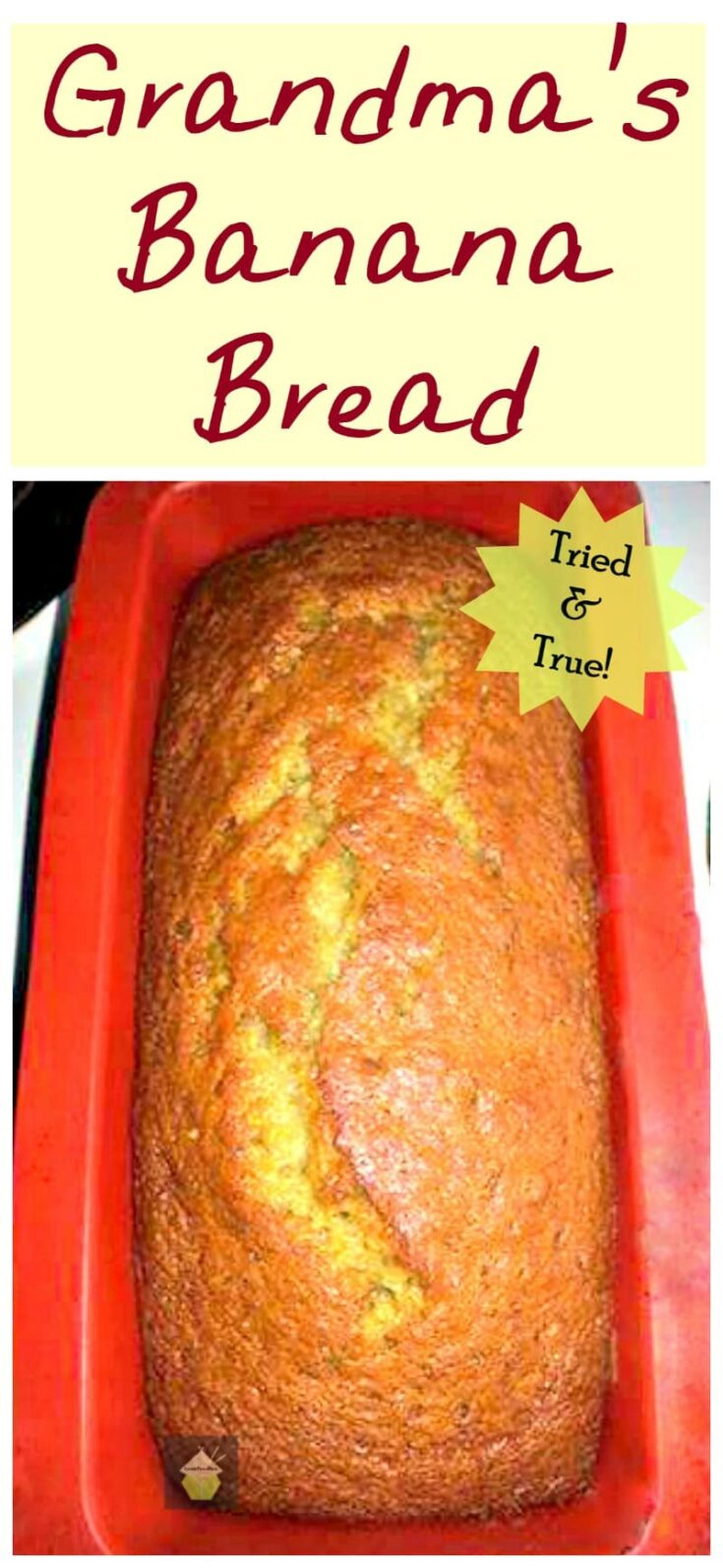 Grandmas Banana Bread PTL
