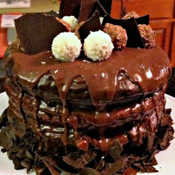 Heavenly Chocolate Cake, this is pure heavenly! and what a jaw dropper!