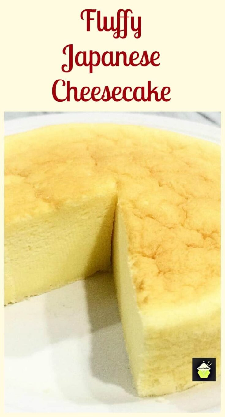 Japanese Cheesecake PTL