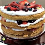 Mixed Berry Sponge Cake
