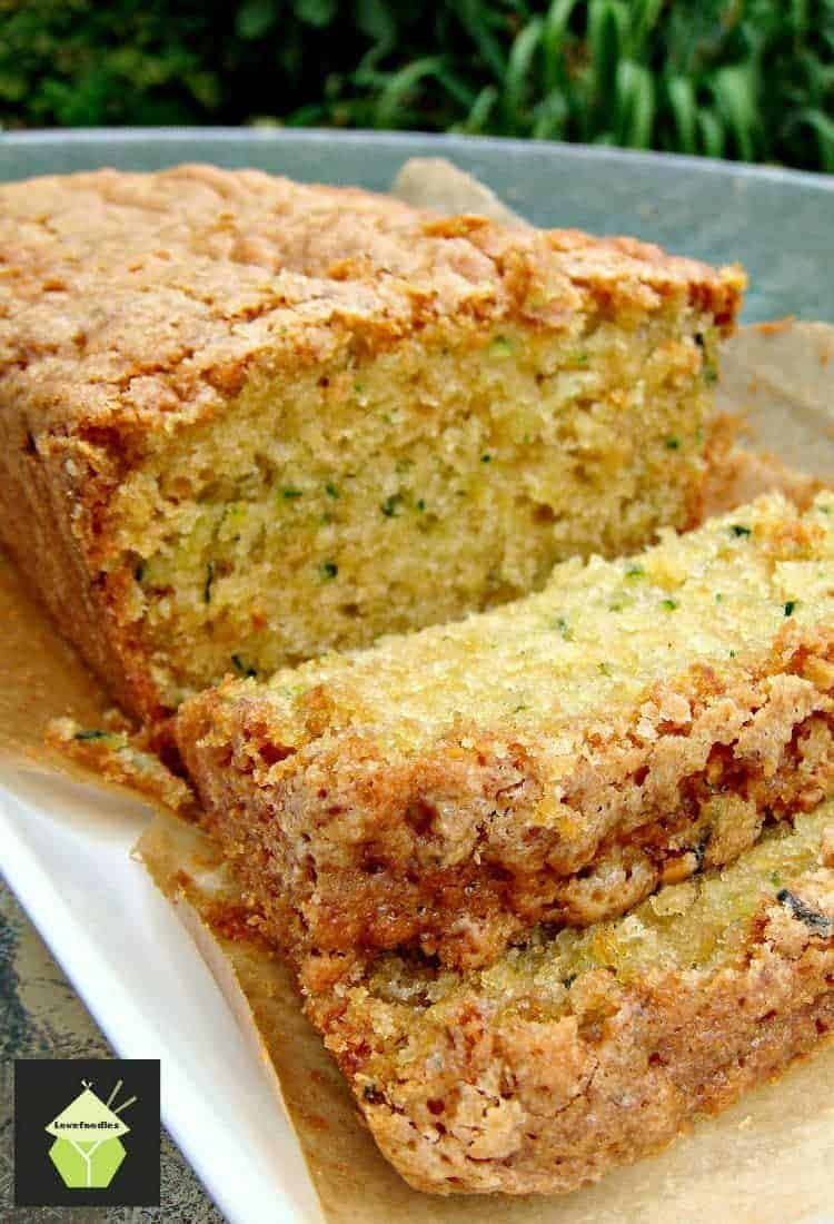 Super moist zucchini bread a wonderful soft loaf cake perfect with super moist zucchini bread a wonderful soft loaf cake perfect with a cup of tea forumfinder Image collections