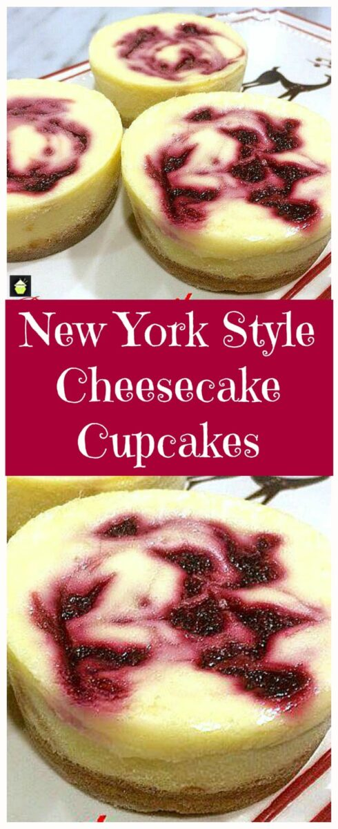 New York Style Cheesecake Cupcakes PTL 1