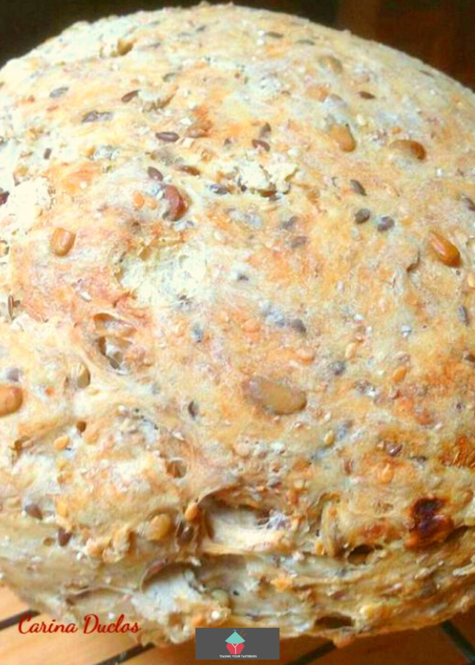No Knead Heritage Bread1a