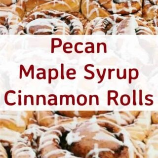Pecan Maple Syrup Cinnamon Rolls. These are so yummy! These rolls are ...