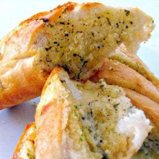 Quick and Easy Garlic Bread. This is a really fuss free recipe, and great for one person or indeed a party. You can make ahead and freeze. Great for parties, serve with a nice chili or soup, pasta, on it's own.. the list is endless!