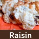 Raisin Scones