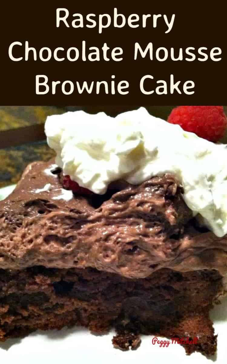 Mousse Cake Brownie Base Recipe