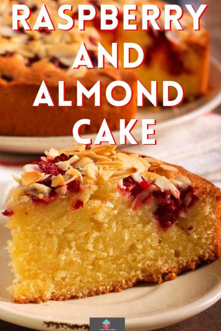 Raspberry and Almond CakeP