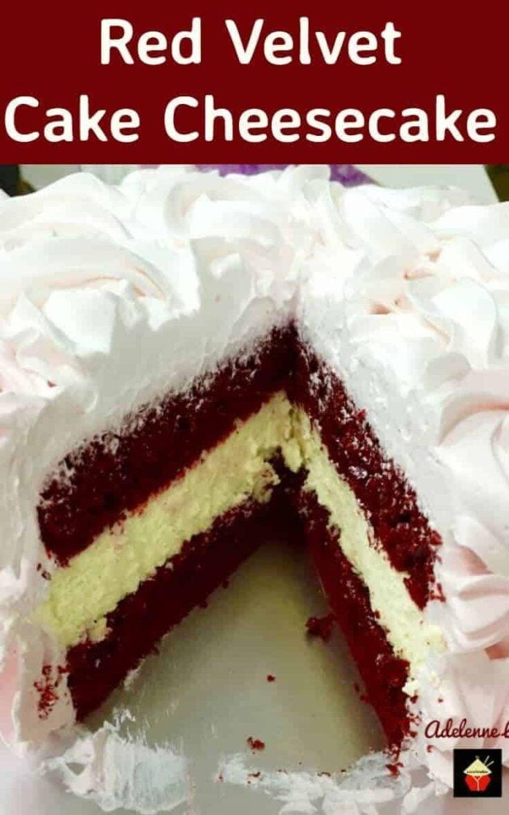 Red Velvet Cake Cheesecake6