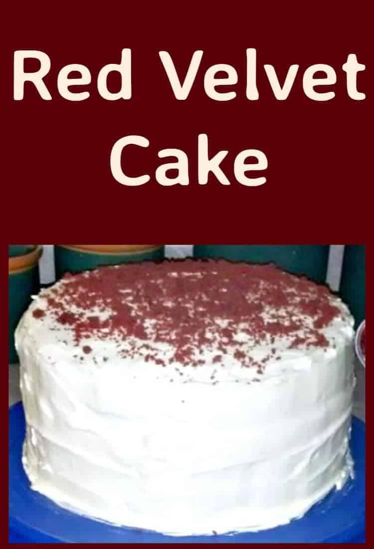 Red Velvet Sheet Cake Lovefoodies