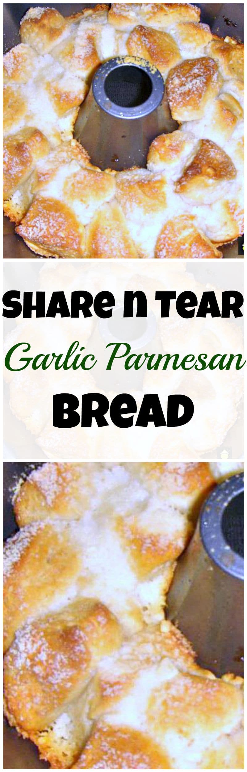 Easy tear and share bread recipe