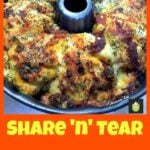 Share n Tear Pizza. An easy recipe and always a hit!