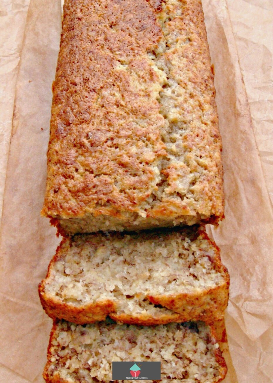 Sour Cream Banana Bread. A soft and delicious cake using sour cream and bananas makes for a lovely easy recipe. Instructions for mini loaves or regular loaf pan!