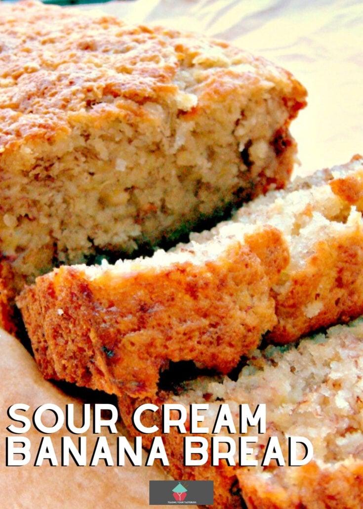 Sour Cream Banana BreadH