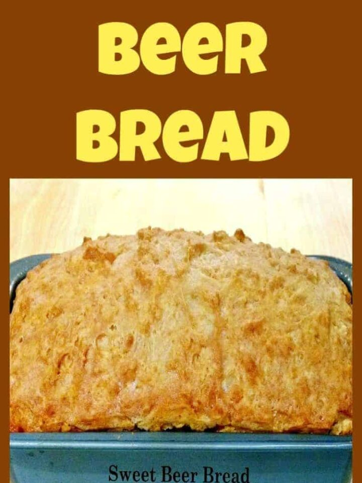 Sweet Beer Bread A VERY easy recipe and makes for a perfect side. Always a favorite!