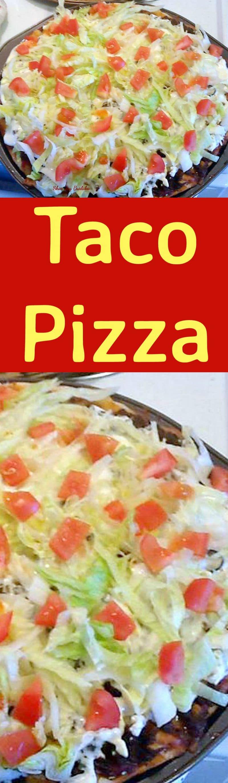 Taco Pizza. Always popular and really tasty!
