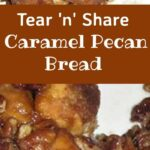 Tear n Share Caramel Pecan Bread. Sticky buns taken to another level! Check out what's in these! Really easy no fuss recipe, bake in a bundt then simply tear n share with your friends!