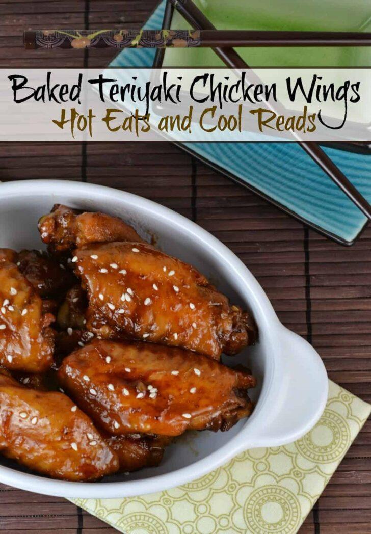 Baked Glazed Teriyaki Chicken Wings Recipe
