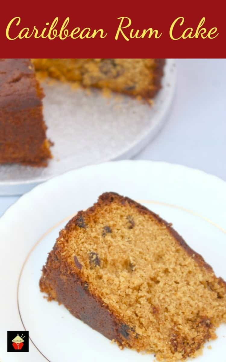 Caribbean Rum Cake This Is A Super Easy Recipe And Perfect With Cup Of