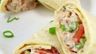 Deluxe Chicken Salad Wraps