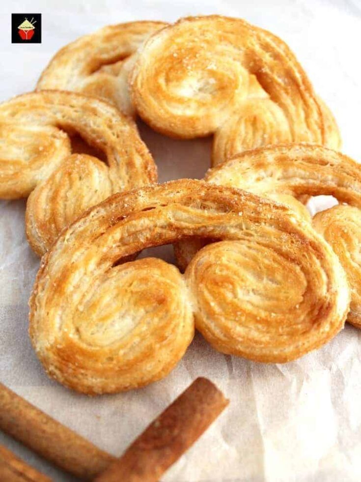 Easy French Palmier Cookies1