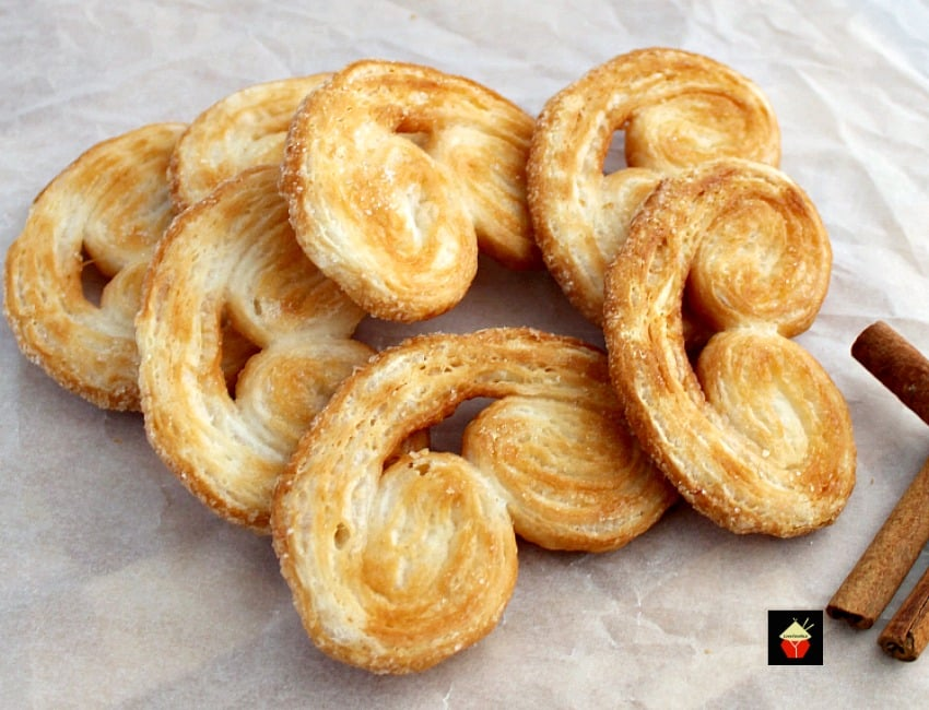 Easy french palmier cookies aka elephant ears these are a very easy french palmier cookies aka elephant ears these are a very easy crispy cookie forumfinder Choice Image